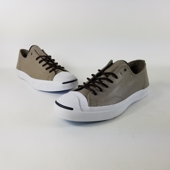 85bf6eb5142e Converse Jack Purcell Ox Tumbled Leather Shoes